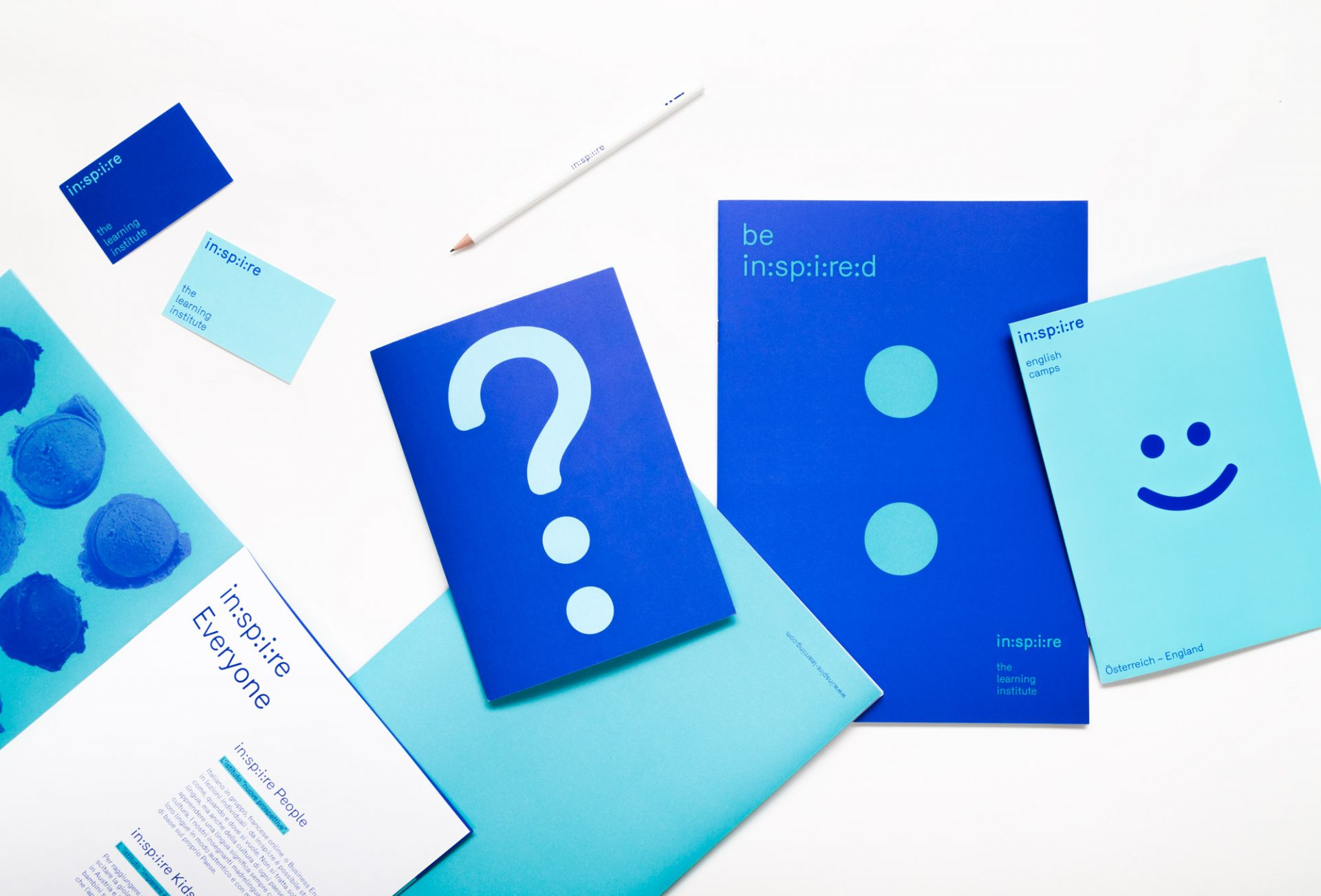 Corporate Design & Identity für in:sp:i:re von studiosteinwender